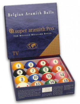 Aramith Super PRO-CUP TV Bolas de Billar